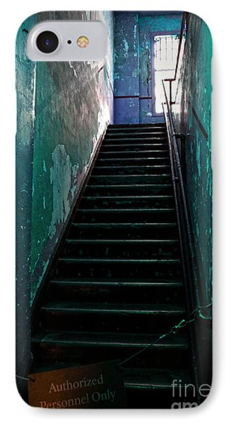 Alcatraz Hospital Stairs IPhone Case by RicardMN Photography