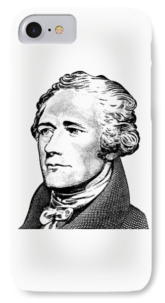 Alexander Hamilton - Founding Father Graphic  IPhone Case by War Is Hell Store