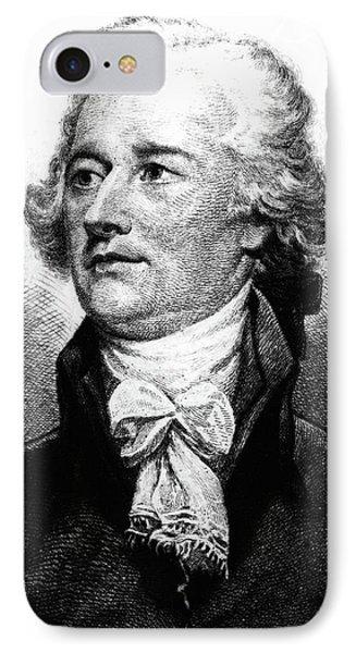 Alexander Hamilton IPhone Case by John Trumbull