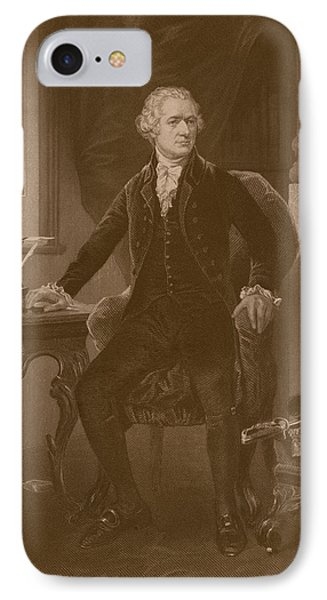 Alexander Hamilton Phone Case by War Is Hell Store