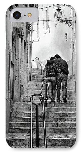Alfama Street IPhone Case by Carlos Caetano