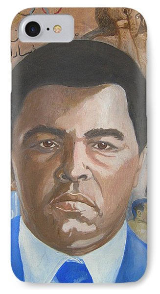 Ali Phone Case by Nigel Wynter