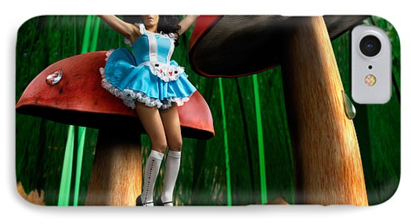 Alice In Wonderland IPhone Case