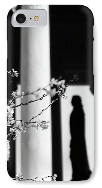 IPhone Case featuring the photograph Alone by Mitch Cat
