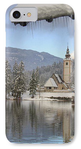 IPhone Case featuring the photograph Alpine Winter Clarity by Ian Middleton