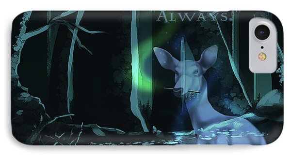 Always - With Text IPhone Case
