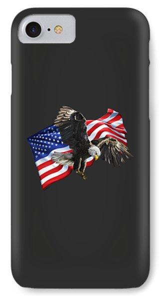America Phone Case by Owen Bell