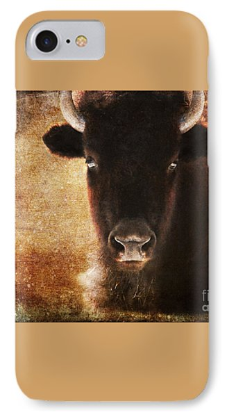 American Bison IPhone Case by Olivia Hardwicke
