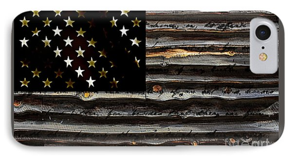 American Flag IPhone Case by Marvin Blaine