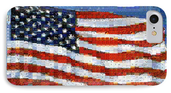 American Flag IPhone Case by Panoramic Images