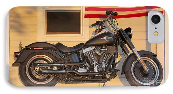 American Pride. Harley Davidson IPhone Case by George Robinson