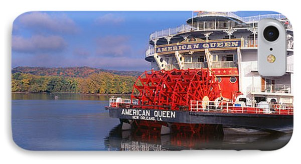 American Queen Paddlewheel Ship IPhone Case