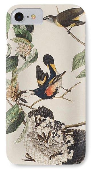 American Redstart  IPhone Case by John James Audubon