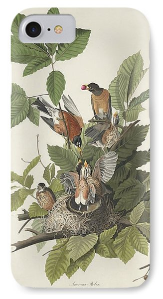 American Robin IPhone 7 Case by Rob Dreyer