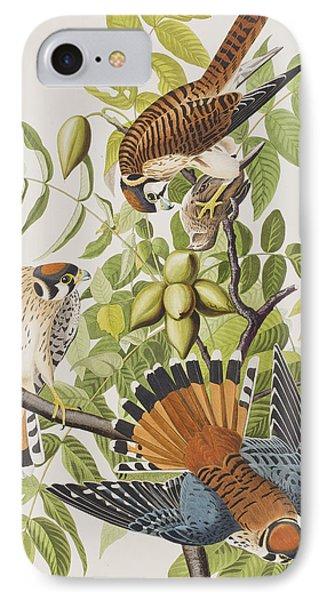 American Sparrow Hawk IPhone 7 Case by John James Audubon