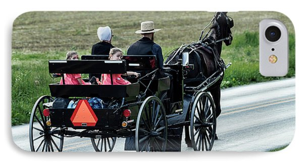 Amish Family IPhone Case