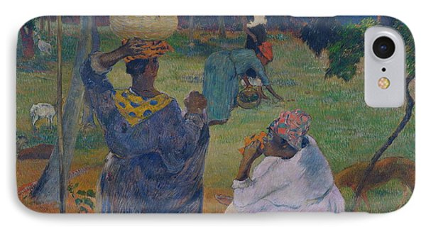 Among The Mangoes At Martinique IPhone Case by Paul Gauguin