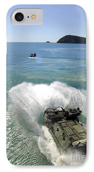 Amphibious Assault Vehicles Exit Phone Case by Stocktrek Images
