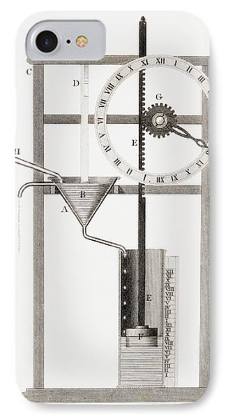 An Ancient Clepsydra Or Water Clock IPhone Case
