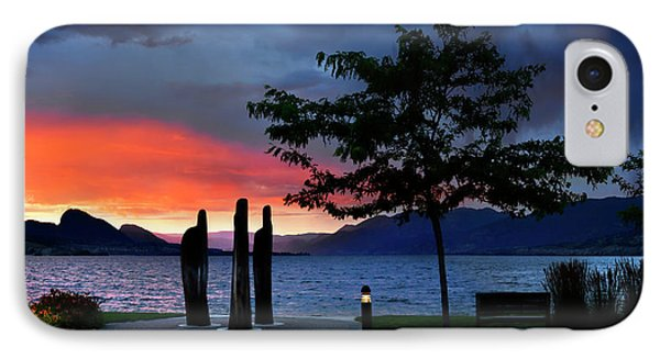IPhone Case featuring the photograph A Sunset Story by John Poon