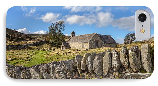 Ancient Welsh Church IPhone Case by Adrian Evans