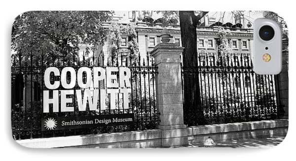 andrew carnegie mansion now cooper hewitt smithsonian design museum New York City USA IPhone Case