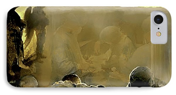Angels And Brothers Phone Case by Todd Krasovetz