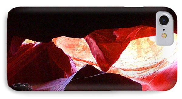 Antelope Slot Canyon - Astounding Range Of Colors IPhone Case by Merton Allen