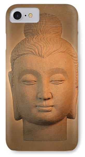 antique oil effect Buddha Gandhara. Phone Case by Terrell Kaucher