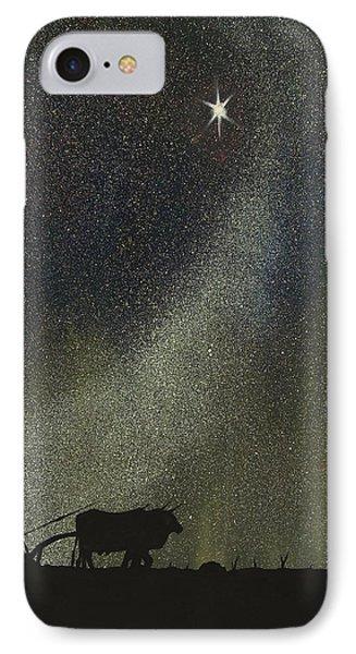 Arado De Bueyes IPhone Case by Edwin Alverio