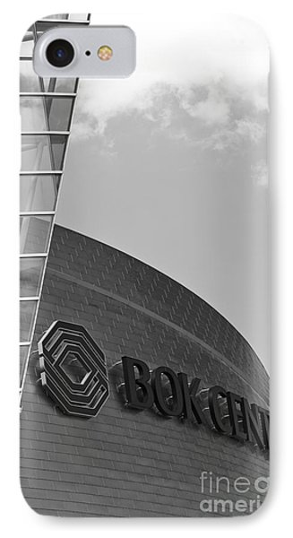 Architectural Modern Building The Bok Center In Tulsa IPhone Case by ELITE IMAGE photography By Chad McDermott