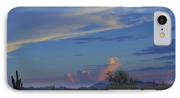 IPhone Case featuring the photograph Arizona Desert by Helen Haw