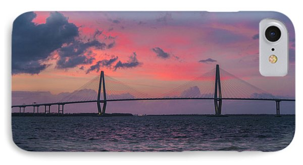 IPhone Case featuring the photograph Arthur Ravenel Bridge by RC Pics