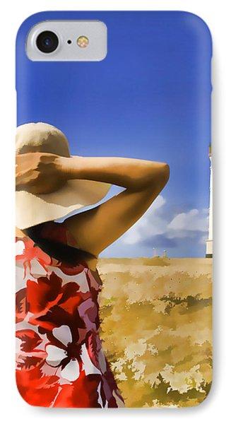 Aruba Lighthouse Phone Case by Dennis Cox WorldViews