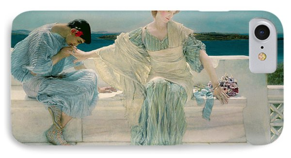Ask Me No More IPhone Case by Sir Lawrence Alma-Tadema
