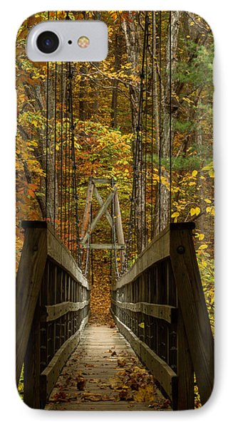 IPhone Case featuring the photograph At Bridge by Kevin Blackburn