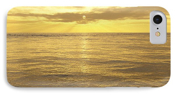 IPhone Case featuring the digital art Ocean View by Mark Greenberg