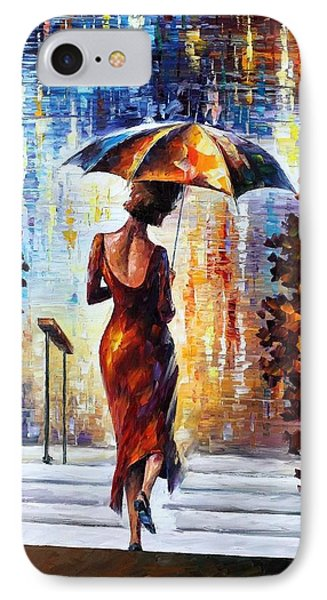 At The Steps Phone Case by Leonid Afremov