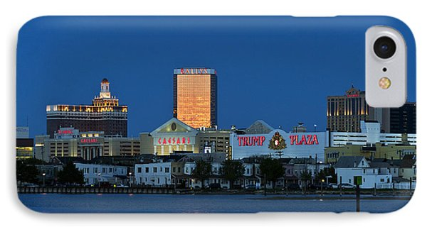 Atlantic City Skyline Phone Case by John Greim