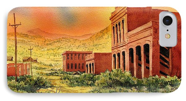Aurora Ghost Town Nevada Phone Case by Kevin Heaney