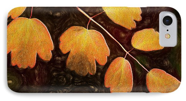 IPhone Case featuring the photograph Autumn Breeze by Paul Wear