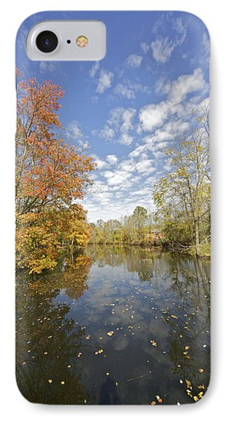 Autumn Colors On The Delaware And Raritan Canal IPhone Case