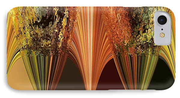 Autumn Colours Abstract IPhone Case by J McCombie