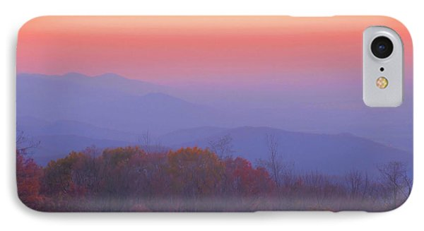 IPhone Case featuring the photograph Autumn Dawn by Stephen  Vecchiotti