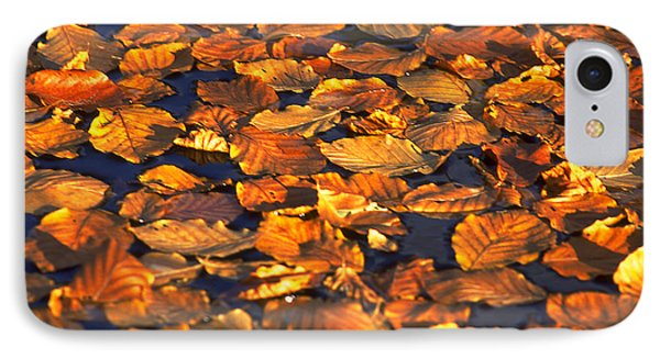 Autumn Leaves IPhone Case by Michael Mogensen