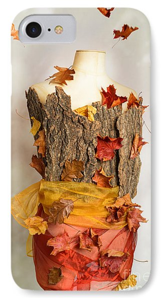 Autumn Mannequin IPhone Case by Amanda Elwell