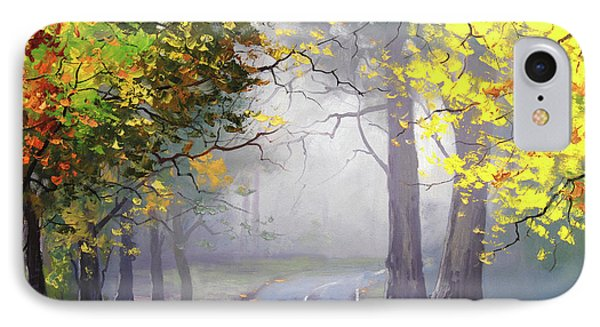 Autumn Mt Wilson IPhone Case