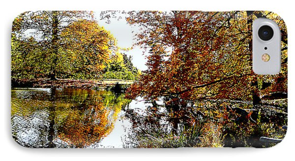 Autumn Reflections Phone Case by Susan Savad