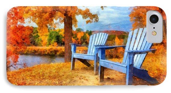 Autumn Splendor Watercolor IPhone Case
