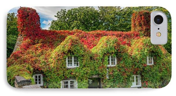 Autumn Tea House IPhone Case by Adrian Evans